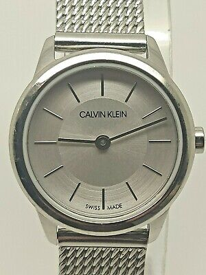 £55 • Buy Calvin Klein Minimal Analog Ladies Watch K3M23126 (112F)