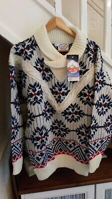 Mens Chunky Christmas Style Jumper/gift/bnwt By Airplay Size L • 4£