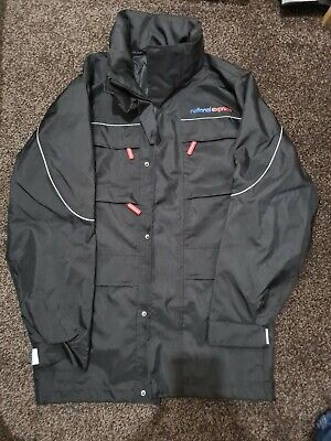 National Express Small Waterproof Coat Wm Travel Bus Transport Nx New Buses • 30£