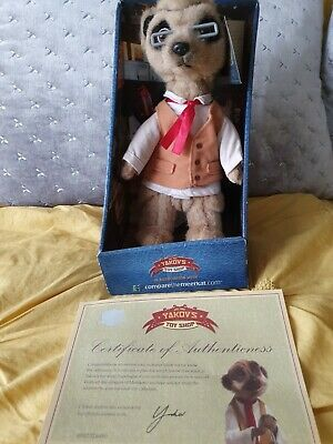 Yakov Compare The Meerkat Toy With Box And Certificate  • 4£