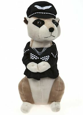 13  Village People Fancy Dress Meerkat Super Soft Plush Toy (Biker) • 31.99£