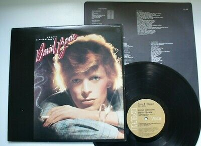 Canada Young Americans With Lyric Sleeve David Bowie Lp • 39.99£