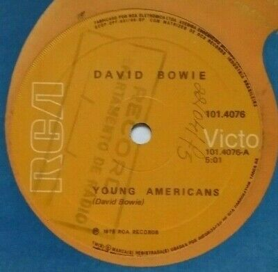 Brazil Young Americans David Bowie 7  Promo?? • 45£