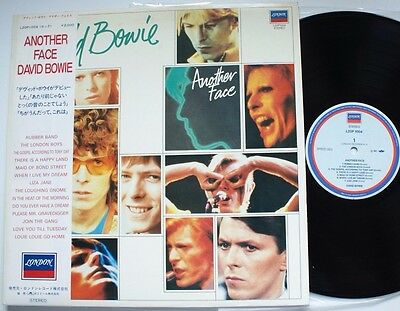 Japan Another Face With Obi David Bowie Lp  • 32.99£