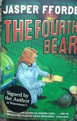 The Fourth Bear By Jasper Fforde  • 3.99£