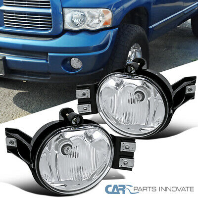 $30.95 • Buy For 02-08 Dodge Ram 1500 2500 3500 04-06 Dodge Durango Fog Lights Bumper Lamps