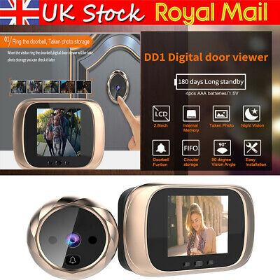 2.8''Wireless Digital LCD Peephole Viewer Doorbell Door Eye Monitor Video Camera • 24.65£
