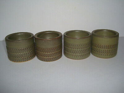 Denby - Chevron - Set Of 4 Egg Cups • 12£