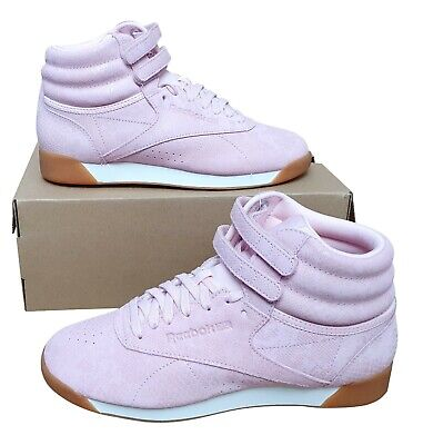 £59.99 • Buy REEBOK Classic Freestyle Hi Fitness Trainer Boot Snakeskin Look Pink MRRP £84.99