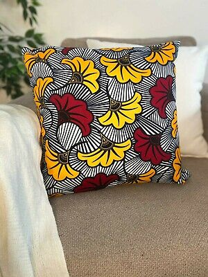 African Print Cushion  (cover Only). • 9.99£
