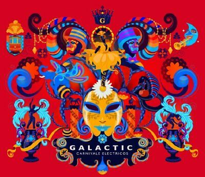 Galactic - Carnivale Electricos - Galactic CD RMVG The Fast Free Shipping • 8.24£