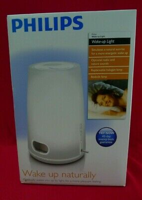 AU91.81 • Buy Philips Wake Up Naturally Light Therapy Alarm Clock HF3470 **NEW **