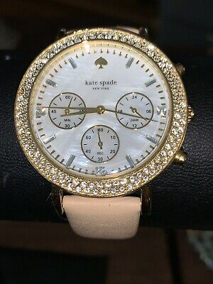 $ CDN52.30 • Buy Ladies Kate Spade New York Leather Band Live Colorfully Watch Chronograph