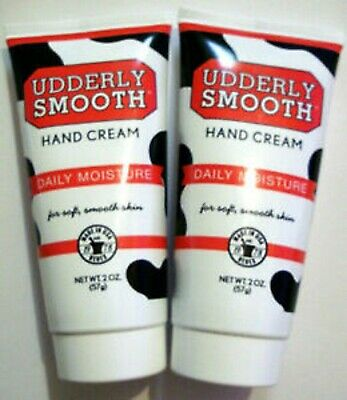 AU11.59 • Buy 2 X UDDERLY SMOOTH Hand Cream Daily Moisture 2 Oz Creams Made In USA New
