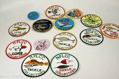 $ CDN10.78 • Buy Vintage Lot Of Antique Fishing Patches NFLCC FATC Etc LC57