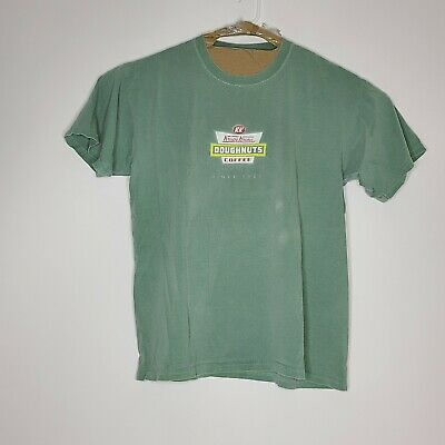 $27.97 • Buy Krispy Kreme Doughnuts Vintage T Shirt Green Mens Size Medium