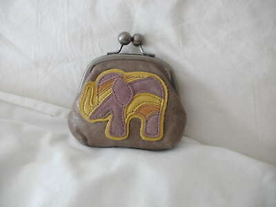 Fossil Leather Coin Purse With Key Charm Detail • 15£