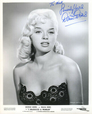 £684.98 • Buy Diana Dors - Autographed Inscribed Photograph