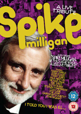 £2.31 • Buy Spike Milligan: I Told You I Was Ill - A Live Tribute DVD (2007) Spike Milligan