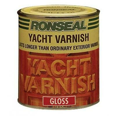 Ronseal Gloss Finish Yacht Varnish 250ml • 10.70£