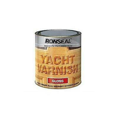 Ronseal Gloss Finish Yacht Varnish 1Ltr • 24.19£