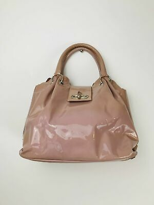 £47.95 • Buy Russell & Bromley Womens Patent Tote Bag | Medium | Pink
