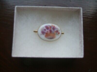 £20 • Buy Brooch Hand Painted On Porcelain