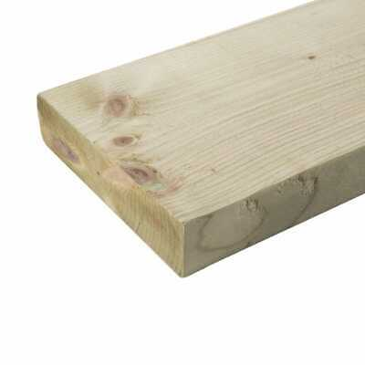£78 • Buy 6X2 TREATED TIMBER 150MM X 47MM X1.8M | C16 | C24 QUICK SALE LIMITED STOCK