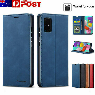 AU14.99 • Buy For Samsung Galaxy S21 S20 FE Ultra S10 S9 8 Plus Case Leather Flip Wallet Cover