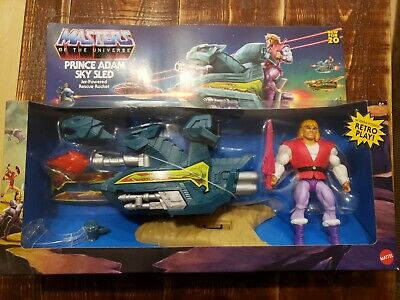$49.99 • Buy Masters Of The Universe Origins SKY SLED W/ Prince Adam New For 2020