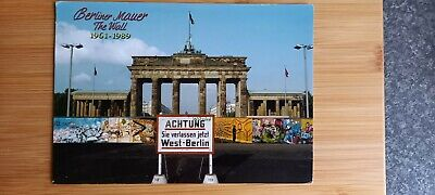 Berlin Wall Postcard - West Berlin - Used - Posted. • 0.99£