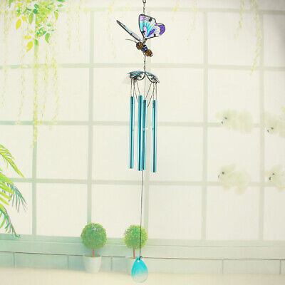 Creative Butterfly Mobile Wind Chime Bell Garden Ornament Gift Living Decor • 18.25£