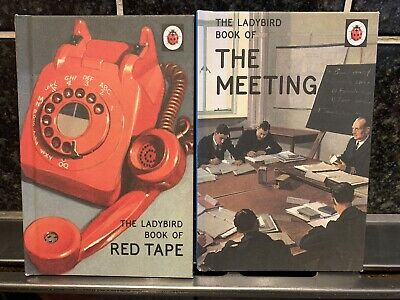 2 X Ladybird Books For Adults The Meeting & Red Tape • 4.99£