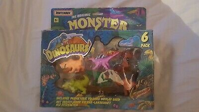 Vintage Monsters In My Pocket Dinosaurs 6 Pack Boxed Matchbox 1993 Rare • 24.99£