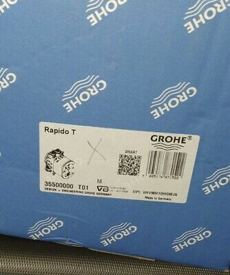 Grohe Rapido T 35500000 Concealed Thermostatic • 105£