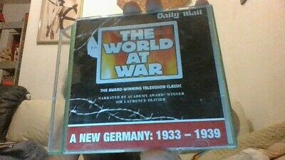 Daily Mail Complete Dvd Collection The World At War 1-26 Set • 0.01£