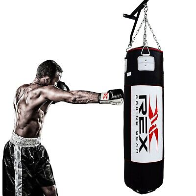 AU108.79 • Buy Punching Bag Boxing Training Filled Punch Bags Kickboxing MMA UFC Fitness 6 FT