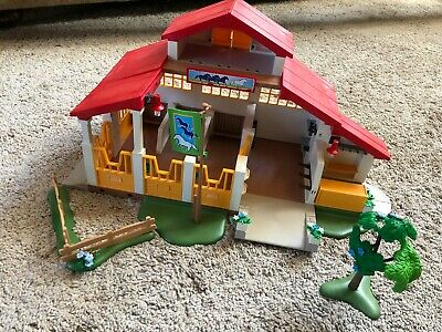 Playmobil Horse/Pony Farm/Stables Building, People,horses And Accessories 4190 • 14.50£