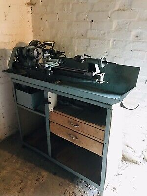 Myford Lathe On Stand - Turns Wood, Metal, And Stone • 650£
