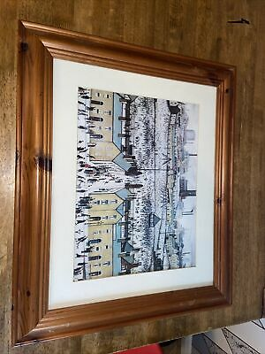 L S Lowry Britain At Play Print In Frame • 1£