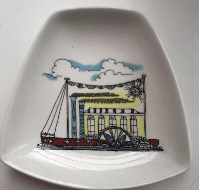 Bone China Pin Dish The Gay Nineties Designed By Maureen Tanner • 4.25£