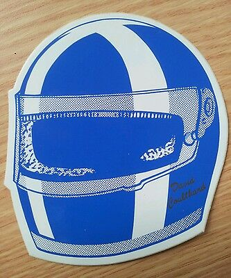 David Coulthard Crash Helmet Sticker • 3£