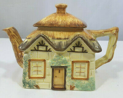 Keele St Pottery Novelty Cottage Teapot, Collectors, Afternoon Tea • 2£