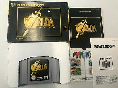 BOXED The Legend Of ZELDA Ocarina Of Time For The Nintendo 64   • 49.95£