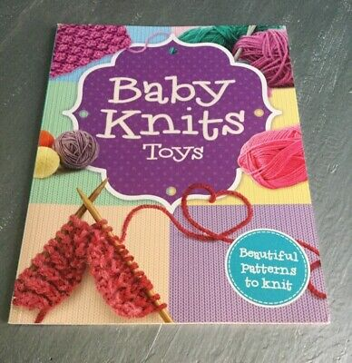 Baby Knits Toys Beginners Guide Book To Knitting Handmade Gifts By Igloo Books  • 2.99£