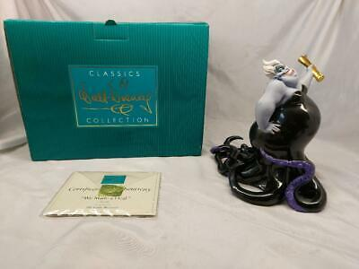 Walt Disney Classic Collection Little Mermaid Ursula We Made A Deal Ltd Ed Boxed • 149.98£