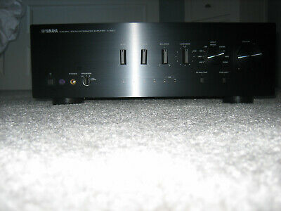 Yamaha A-S801 Stereo Integrated Amplifier Amp Black. • 228£