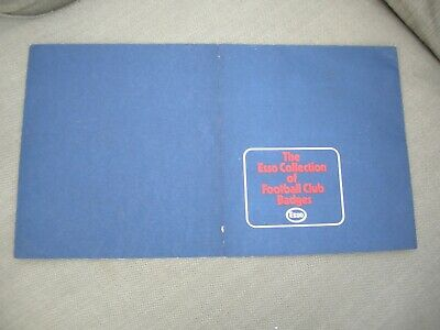 ESSO COLLECTION OF FOOTBALL CLUB BADGES 1970s MINT Empty Card  • 5.99£