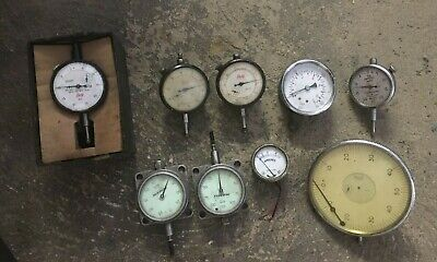 Selection Of Engineering Dial Gauge - Various Makes And Types - Mercer, Baty Etc • 30£
