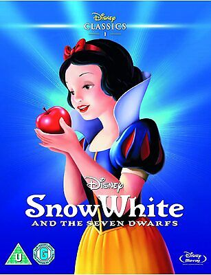 Snow White And The Seven Dwarfs 3 Disc Set Disney Blu Ray In Ltd Slipcase • 1.99£